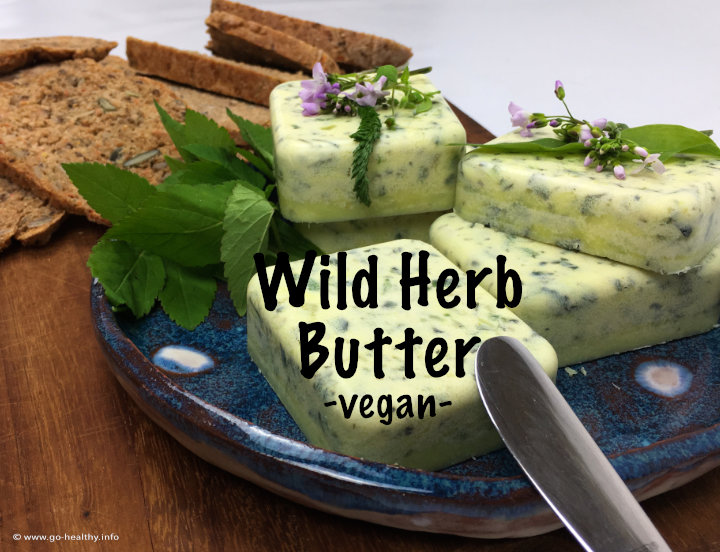 Vegan Wild Herb Butter