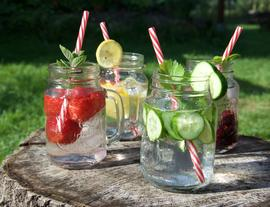 Summer in a Glass - Fresh Fruity Water