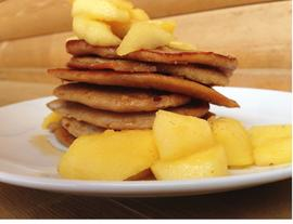 Coconut-Banana Pancakes for Summiteers
