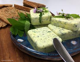 Vegan Wild Herb Butter - Fast and Easy